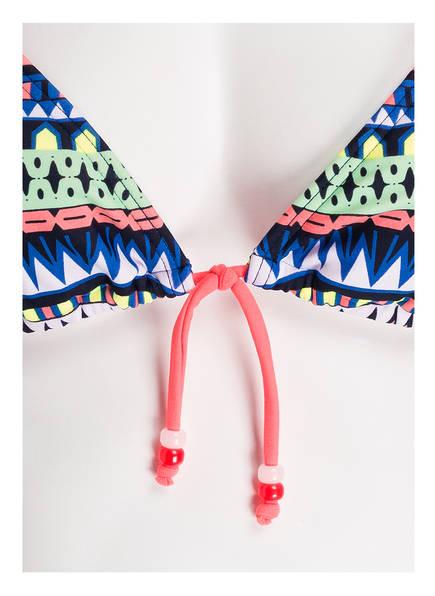 Grün Hot Blau top Koralle Triangel Neon Stuff bikini gvWqTvz