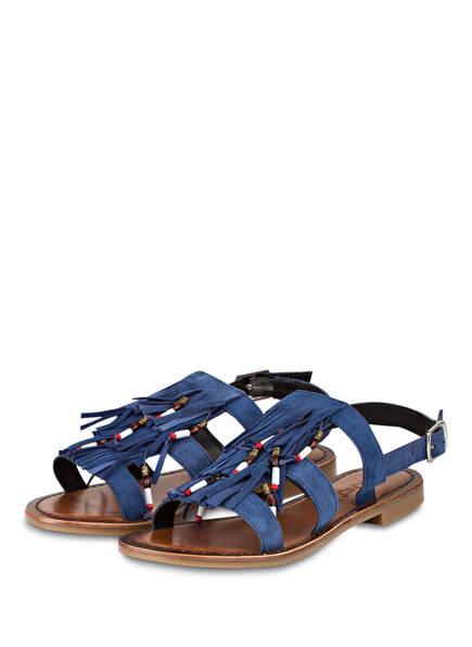 INUOVO Sandalen, Farbe: BLAU (Bild 1)