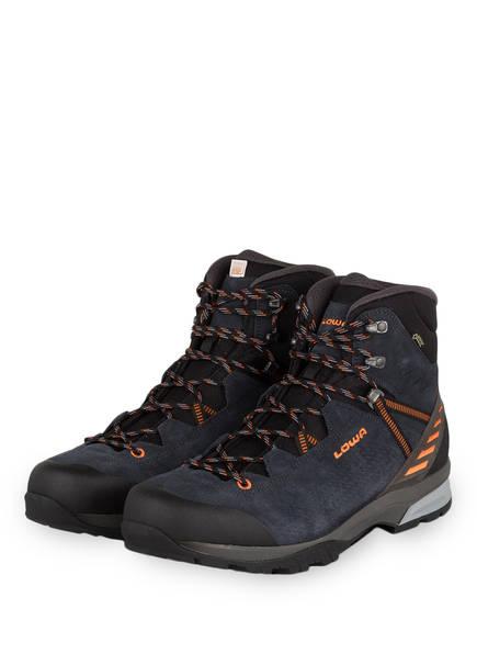 LOWA Trekking-Schuhe ARCO GTX MID, Farbe: NAVY/ ORANGE (Bild 1)