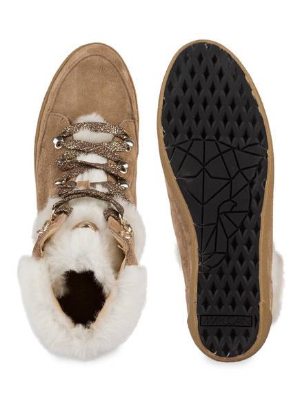 MARCCAIN Hightop-Sneaker mit Keilabsatz