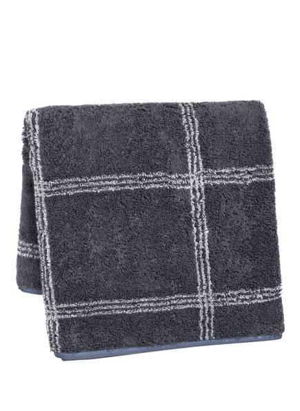Cawö Handtuch LUXURY HOME, Farbe: ANTHRAZIT/ HELLGRAU (Bild 1)