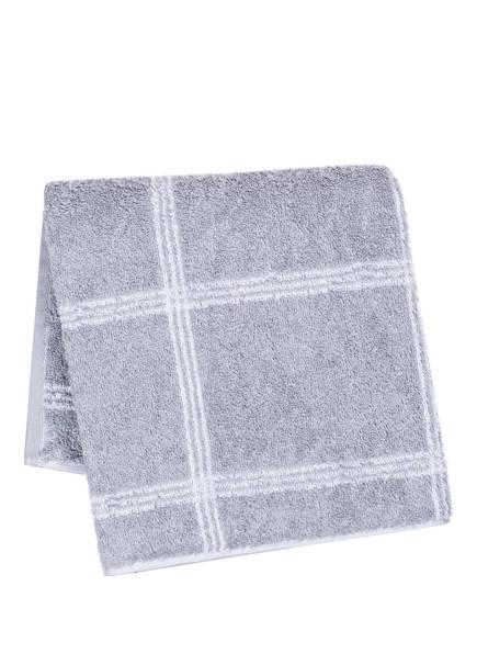 Cawö Handtuch LUXURY HOME, Farbe: GRAU/ WEISS (Bild 1)