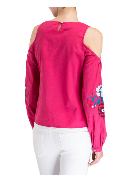 SUZANNA Cold-Shoulder-Bluse