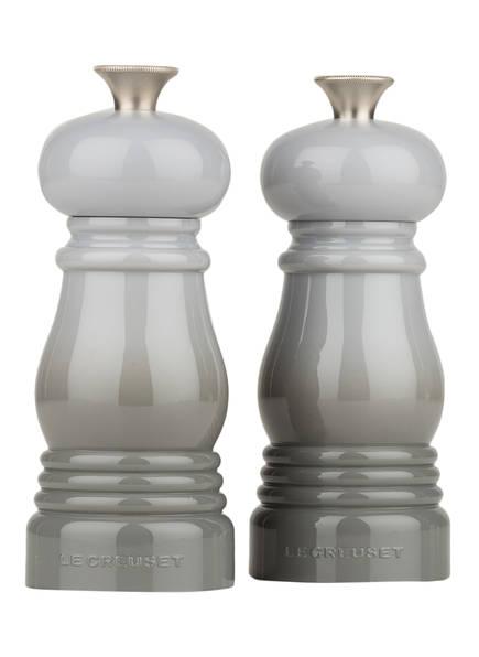 LE CREUSET Set: Salz- und Pfeffermühle, Farbe: PERLGRAU (Bild 1)