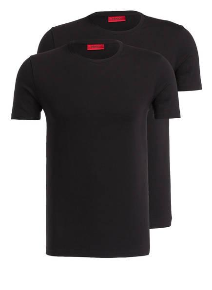 HUGO 2er-Pack T-Shirts, Farbe: SCHWARZ (Bild 1)
