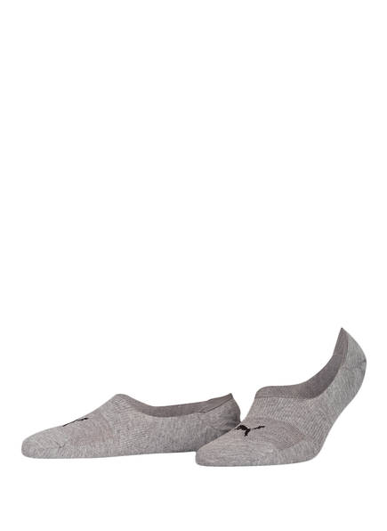 PUMA 2er-Pack Sneakersocken, Farbe: 758 GREY (Bild 1)