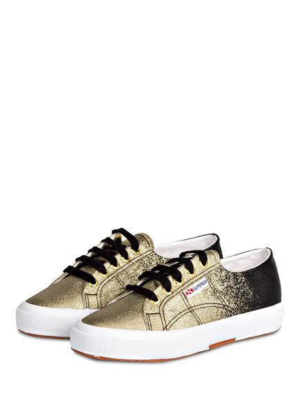 SUPERGA Sneaker 2750 LAMEDEGRADEW, Farbe: SCHWARZ/ GOLD (Bild 1)