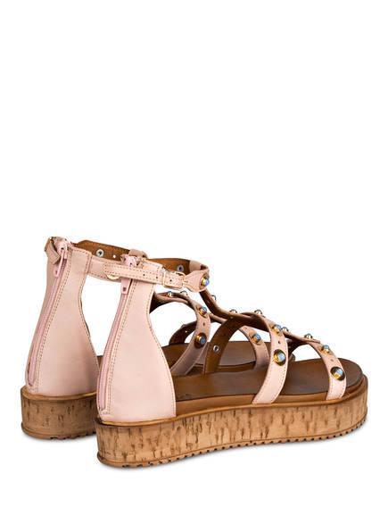 INUOVO Plateau-Sandalen mit Nietenbesatz