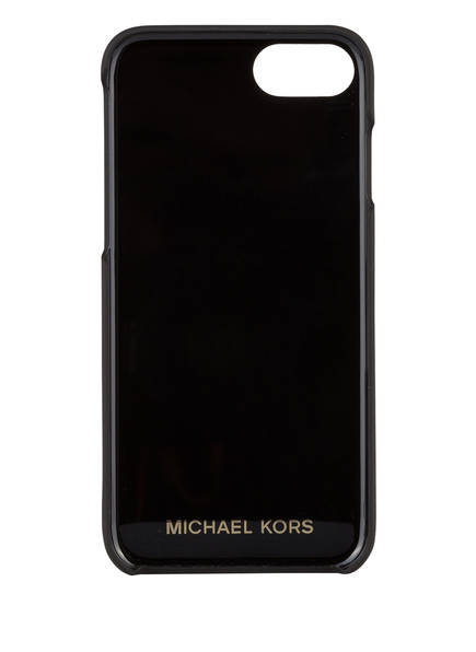 MICHAEL KORS iPhone-H&uuml;lle aus Saffiano-Leder<br>       f&uuml;r iPhone 7