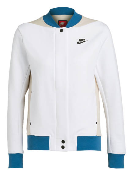 Nike Blau Hellbeige Destroyer Tech Blouson Fleece Weiss qnXTP0Xwr