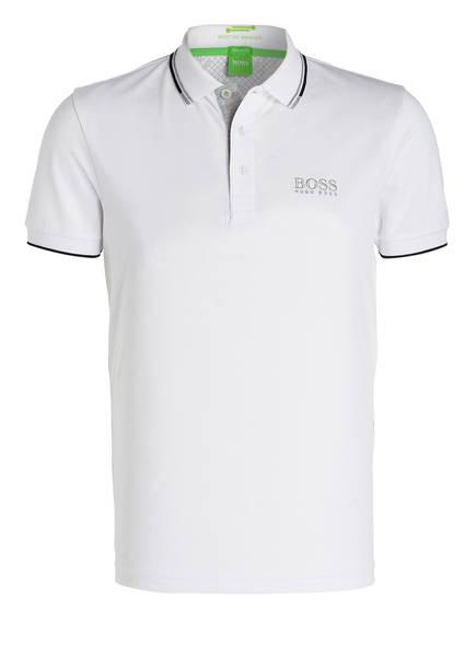 BOSS Piqué-Poloshirt PADDY PRO Modern Fit , Farbe: WEISS (Bild 1)