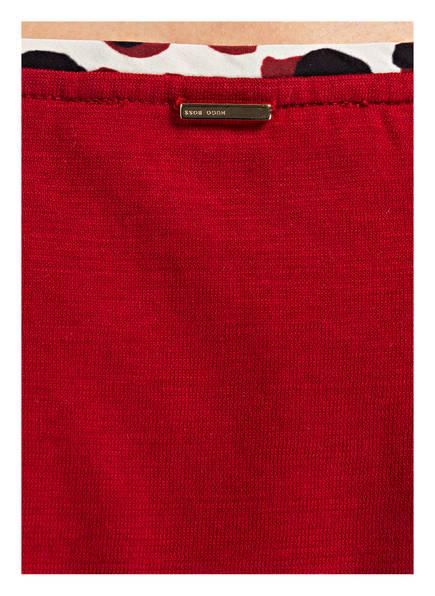 BOSS T-Shirt EDIRANA<br>          im Materialmix