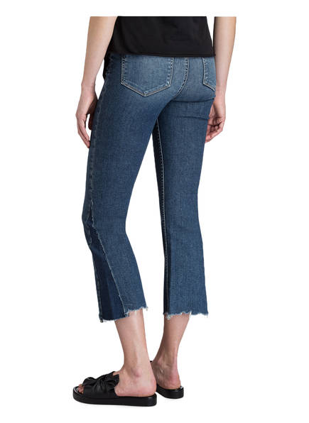 PAIGE Cropped-Jeans PIECED COLETTE