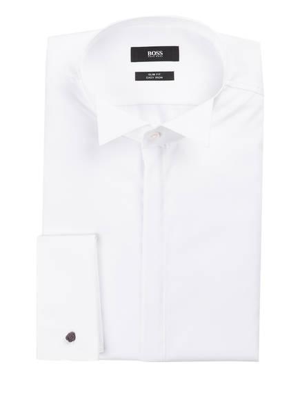 BOSS Hemd JILLIK Slim Fit mit Umschlagmanschette, Farbe: WEISS (Bild 1)