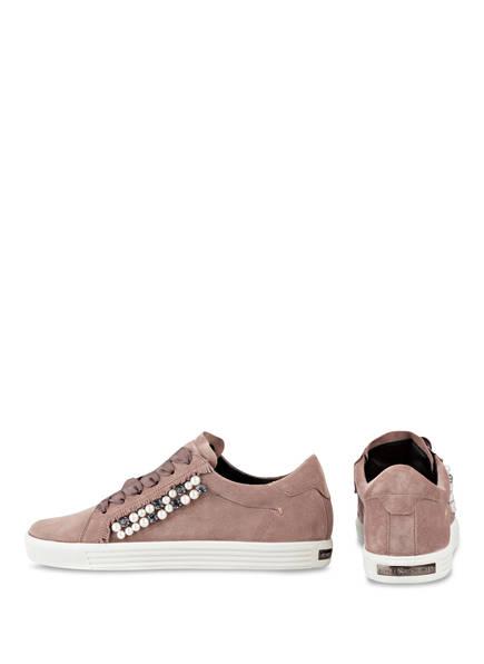 KENNEL & SCHMENGER Sneaker TOWN mit Perlenbesatz