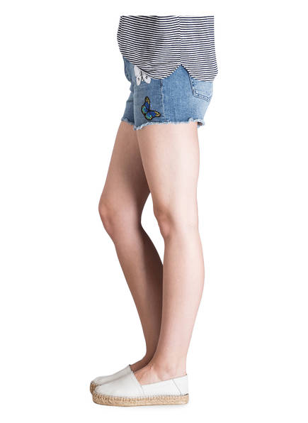 rich&amp;royal Jeans-Shorts<br>          mit Patches