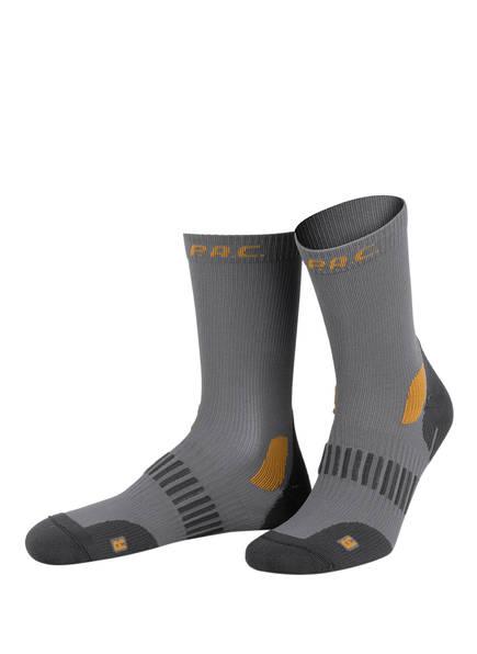 P.A.C. Trekking-Socken ALLROUND, Farbe: GRAU/ ORANGE (Bild 1)