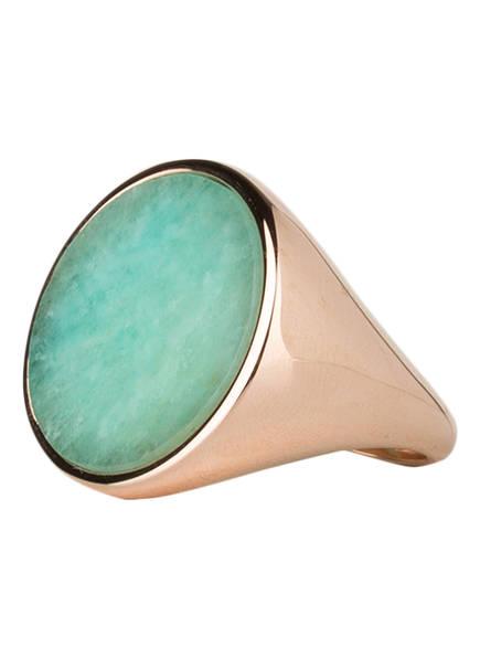 Bronzallure Ring ALBA, Farbe: ROSÉGOLD/ TÜRKIS (Bild 1)