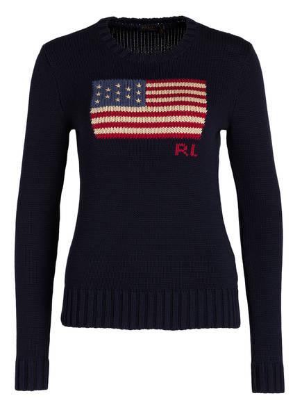 Ralph Navy Polo Strickpullover Ralph Polo Lauren Strickpullover Polo Ralph Navy Lauren 6AFPqEw5