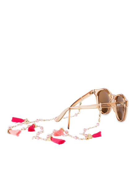 SUZANNA Brillenband, Farbe: GOLD/ ROSA/ PINK (Bild 1)