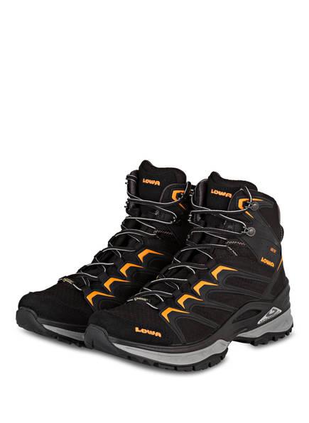 LOWA Trekking-Schuhe INNOX GTX MID, Farbe: SCHWARZ/ORANGE (Bild 1)