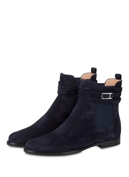 UNÜTZER Chelsea-Boots, Farbe: NAVY (Bild 1)