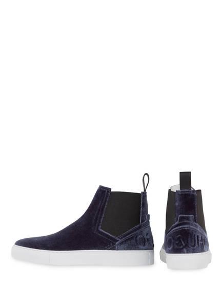 HUGO Chelsea-Sneaker ERIN-VT aus Samt