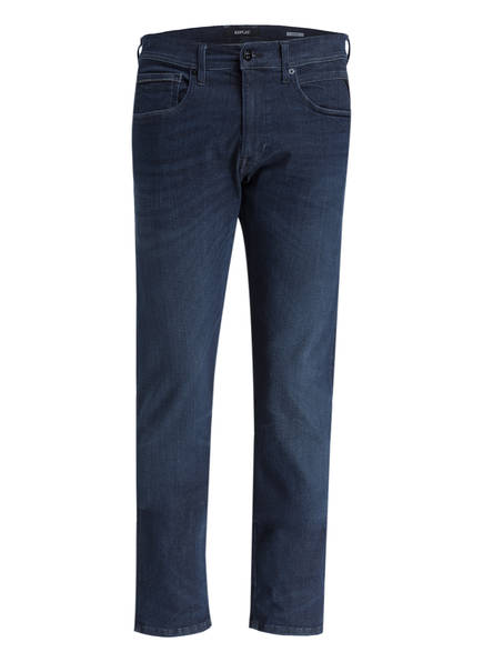 REPLAY Jeans GROVER HYPERFLEX Straight Fit, Farbe: 007 DARK BLUE (Bild 1)