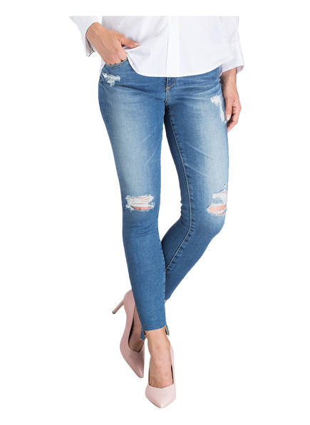 AG Jeans Destroyed-Jeans THE MIDDI ANKLE
