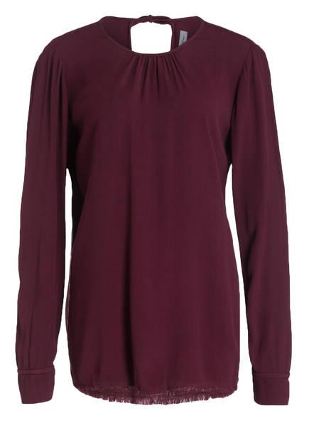 raquel allegra Blusenshirt, Farbe: BORDEAUX (Bild 1)