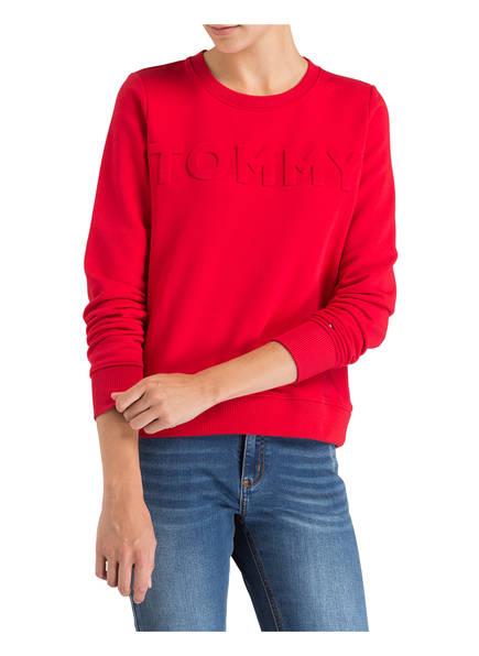 TOMMY HILFIGER Sweatshirt mit Prägung