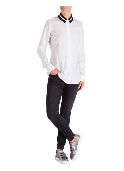 Laur&egrave;l Bluse <br>            mit abnehmbaren Kragen