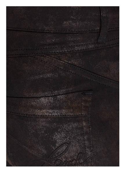 Laurèl Jeans mit Glatzbeschichtung