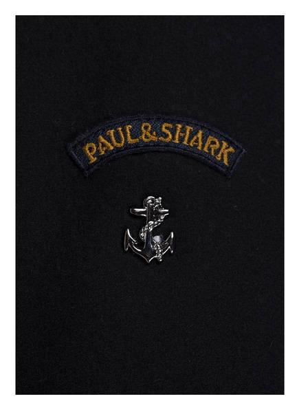 PAUL & SHARK Schurwoll-Blouson mit abnehmbarer Kapuze