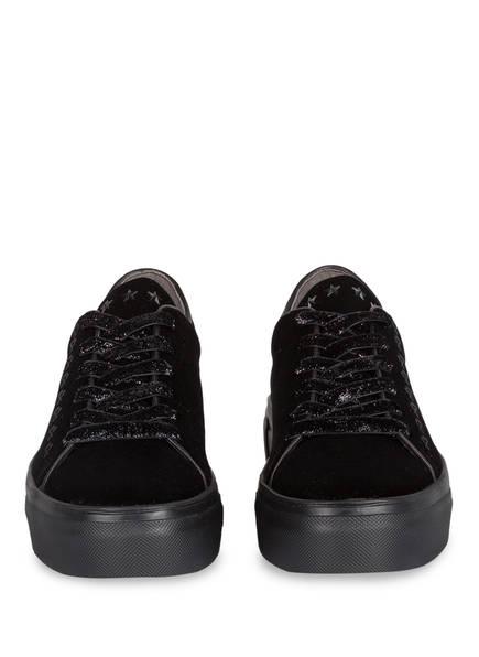 KENNEL & SCHMENGER Samt-Sneaker BIG mit Nietenbesatz
