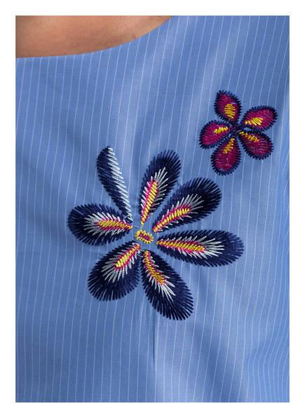 van Laack Blusenshirt mit Stickereien