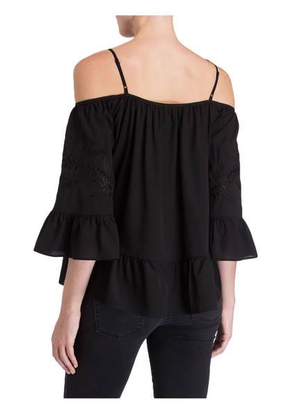 Jadicted Off-Shoulder-Bluse aus Seide