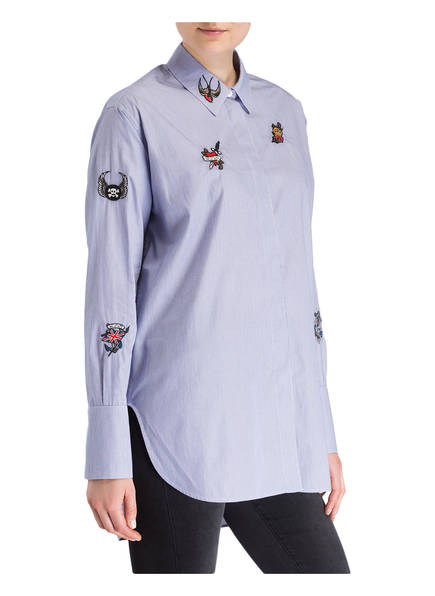 BELSTAFF Longbluse SHAUNA<br>       mit Patches