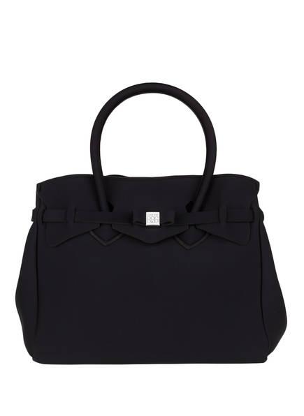 SAVE MY BAG Neopren-Handtasche MISS, Farbe: SCHWARZ (Bild 1)