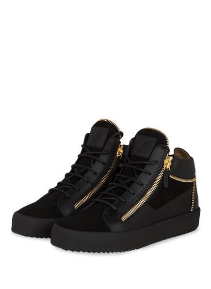 GIUSEPPE ZANOTTI DESIGN Hightop-Sneaker, Farbe: SCHWARZ (Bild 1)