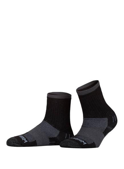 WRIGHTSOCK Trekking-Socken ESCAPE CREW doppel-lagig, Farbe: 03 BLACK (Bild 1)