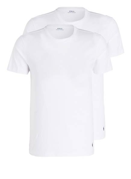 POLO RALPH LAUREN 2er-Pack Shirts, Farbe: WEISS (Bild 1)