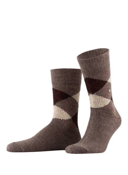 Burlington Socken PRESTON, Farbe: 5256 BROWN (Bild 1)