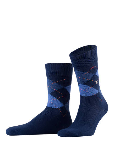 Burlington Socken PRESTON, Farbe: 6000 ROYAL BLUE (Bild 1)