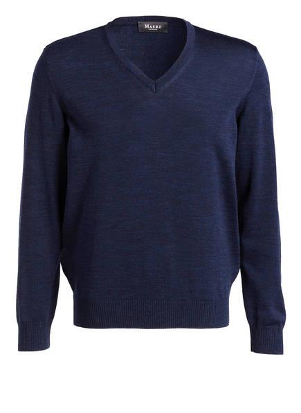 MAERZ MUENCHEN Pullover, Farbe: NAVY MELIERT (Bild 1)