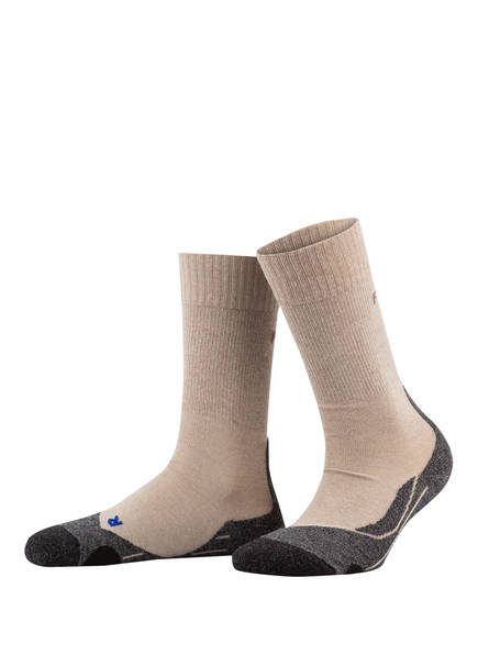 FALKE Trekking-Socken TK2 COOL, Farbe: NATUR/ GRAU (Bild 1)