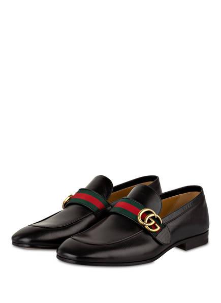 GUCCI Loafer GG, Farbe: SCHWARZ (Bild 1)