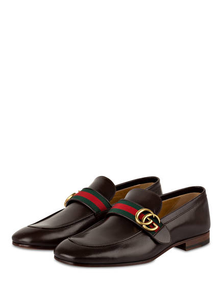 GUCCI Loafer GG, Farbe: BRAUN (Bild 1)