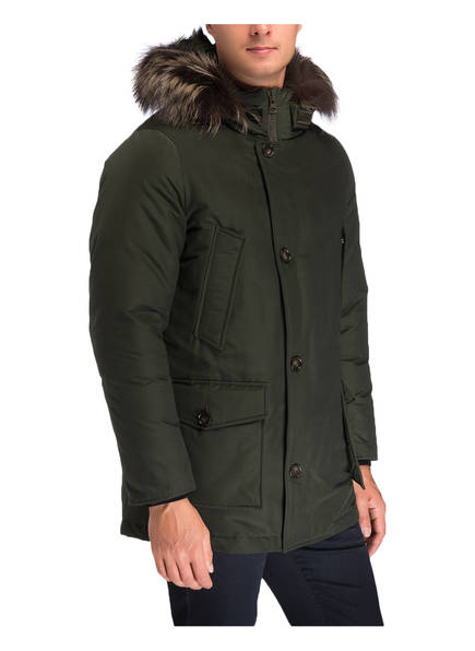 daunenparka arctic parka tt mit abnehmbarer kapuze und. Black Bedroom Furniture Sets. Home Design Ideas