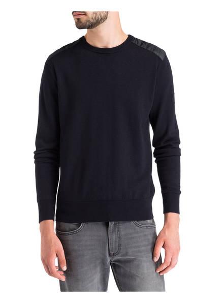 BELSTAFF Pullover CARIGAN mit Schulterbesatz